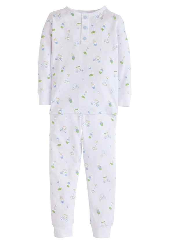 Boy Printed Jammies - Golf