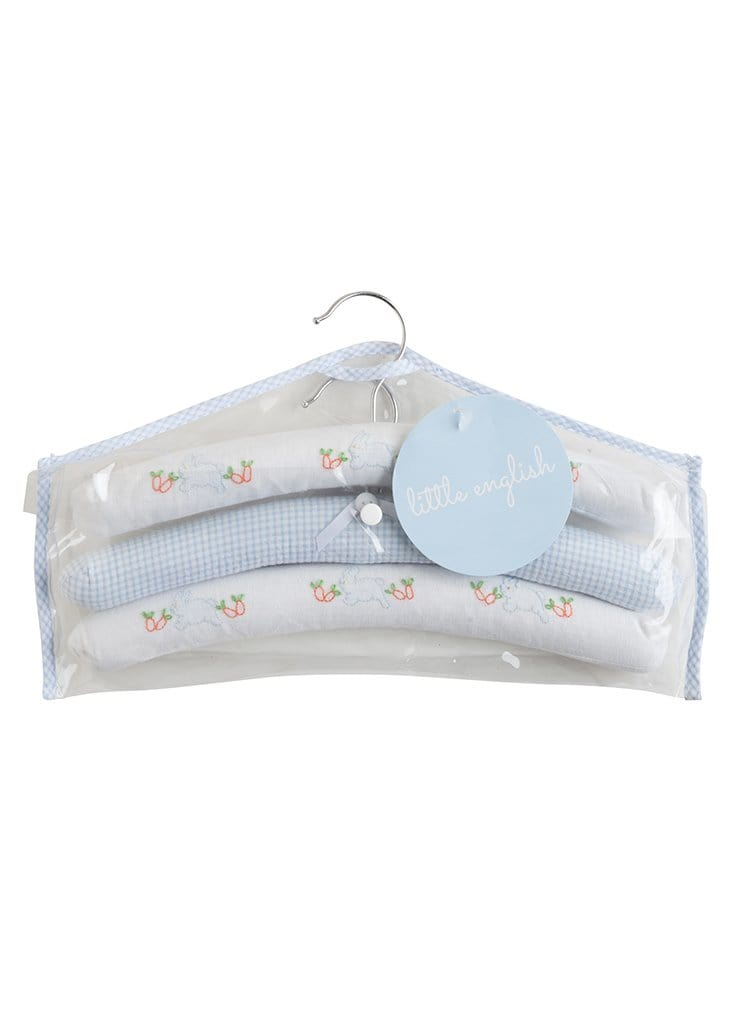 Hangers-Boy Bunny, Little English, classic children's clothing, preppy children's clothing, traditional children's clothing, classic baby clothing, traditional baby clothing