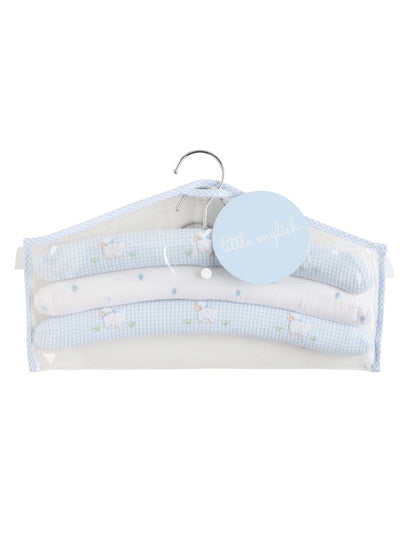 Hangers - Blue Sheep, Little English, classic children's clothing, preppy children's clothing, traditional children's clothing, classic baby clothing, traditional baby clothing