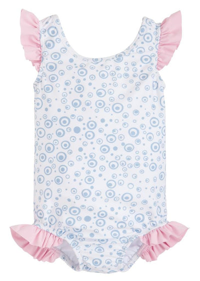 Harper Swimsuit, Little English, classic children's clothing, preppy children's clothing, traditional children's clothing, classic baby clothing, traditional baby clothing