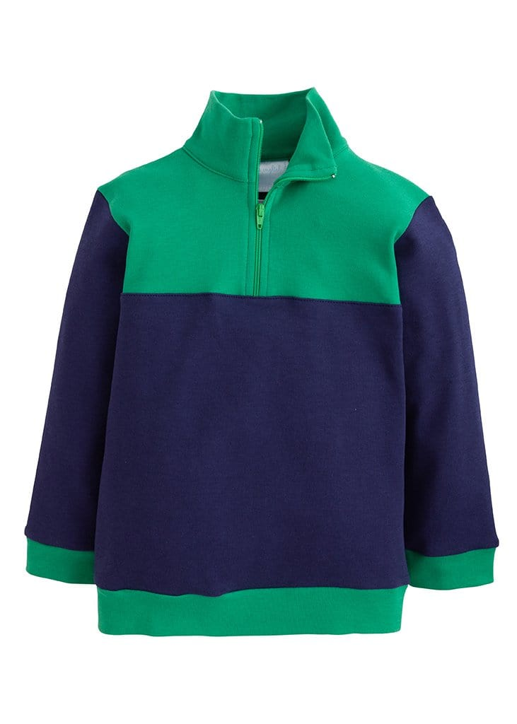 Hastings Half-Zip - Boys Navy