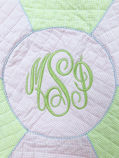 Quilted Playmat Pink