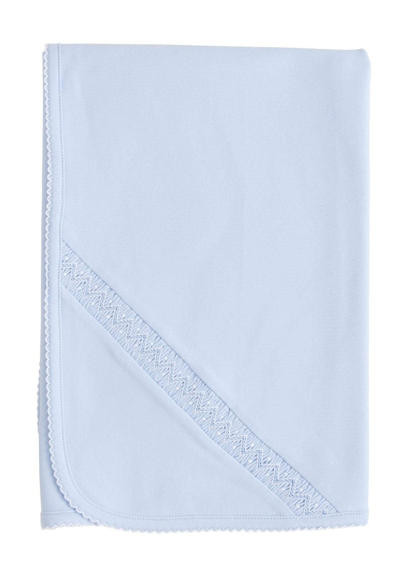 Welcome Home Layette Blanket - Blue