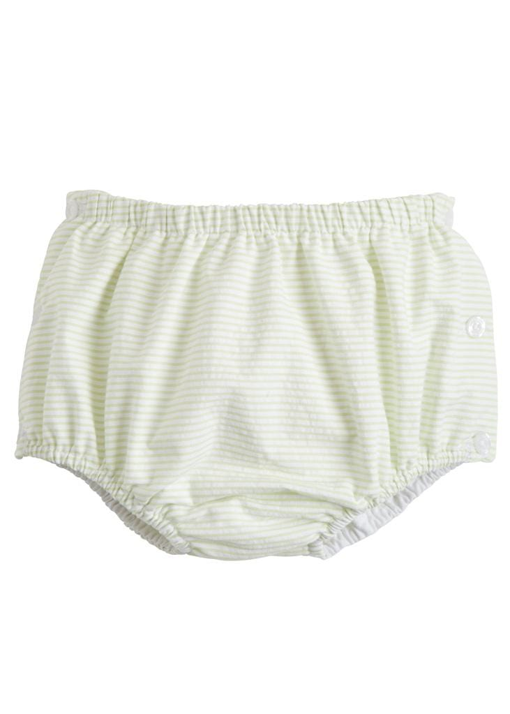 Jam Panty - Green Seersucker, Little English, classic children's clothing, preppy children's clothing, traditional children's clothing, classic baby clothing, traditional baby clothing