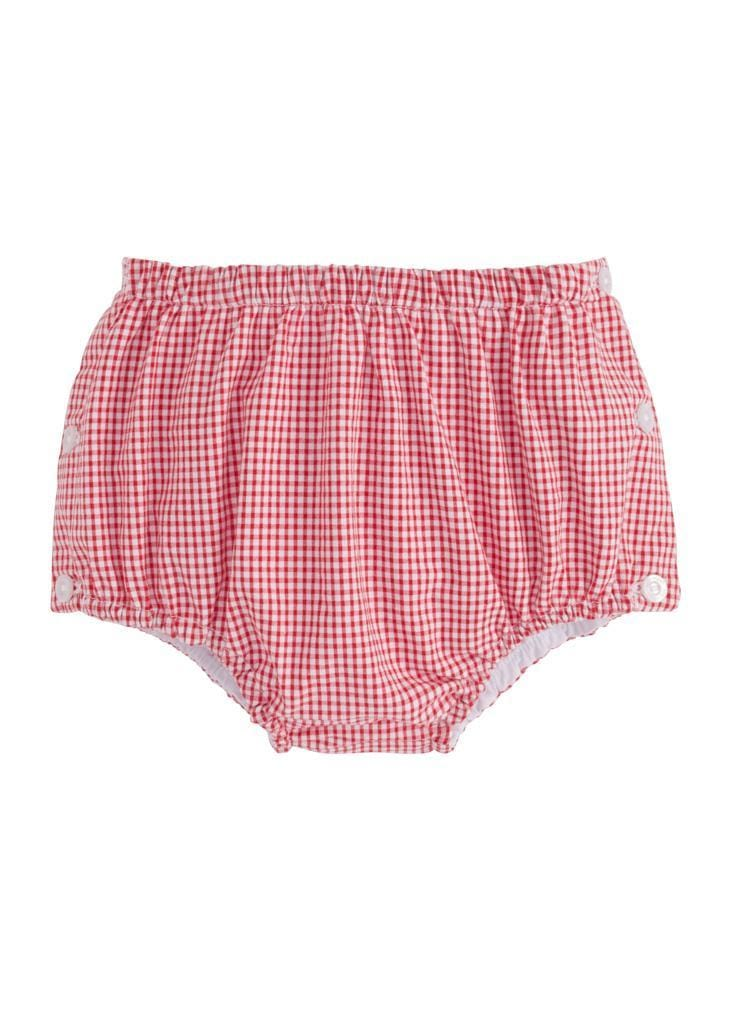 Jam Panty - Red Gingham, Little English, classic children's clothing, preppy children's clothing, traditional children's clothing, classic baby clothing, traditional baby clothing