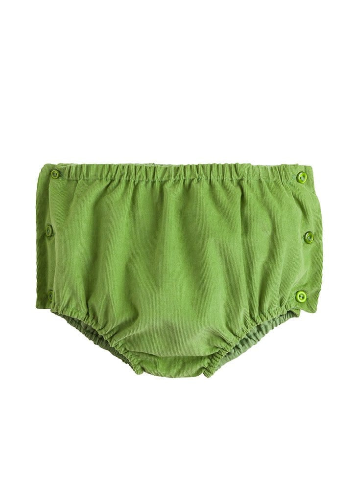 sage green corduroy diaper cover