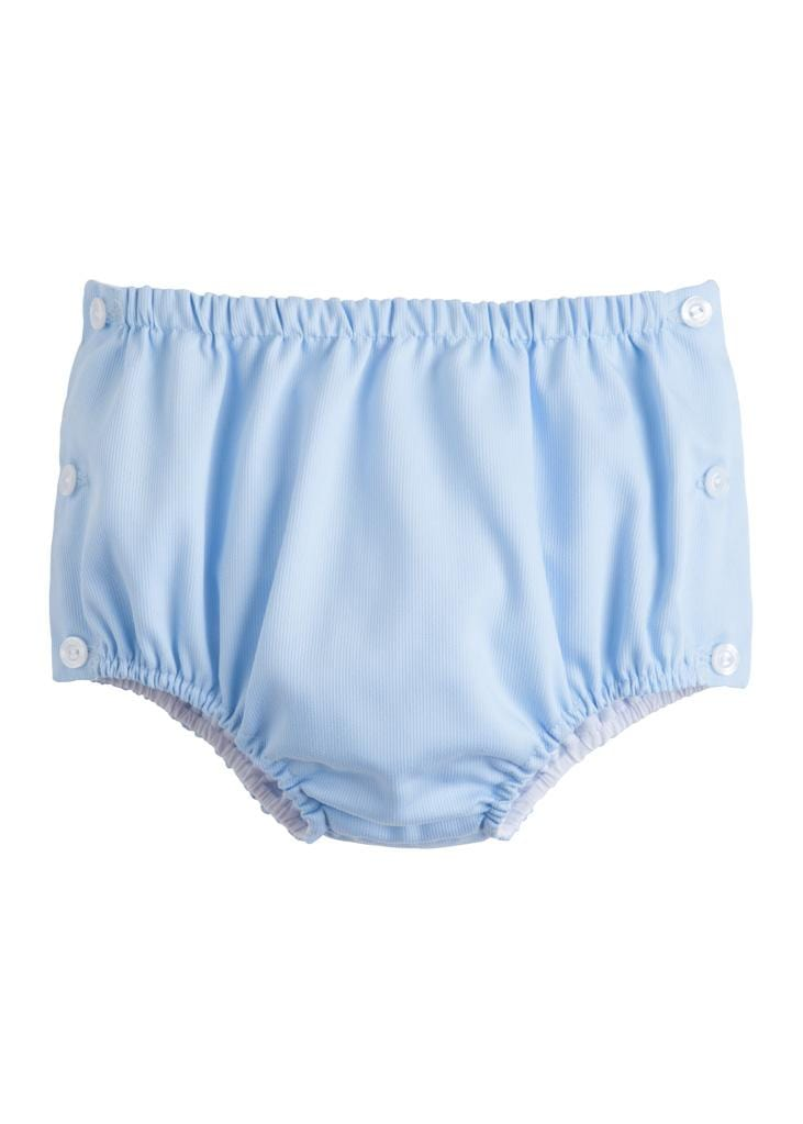 Jam Panty - Light Blue Pique, Little English, classic children's clothing, preppy children's clothing, traditional children's clothing, classic baby clothing, traditional baby clothing