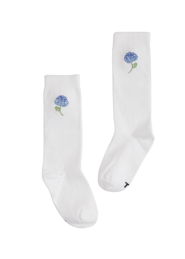 Knee Highs - Hydrangea, Little English, classic children's clothing, preppy children's clothing, traditional children's clothing, classic baby clothing, traditional baby clothing