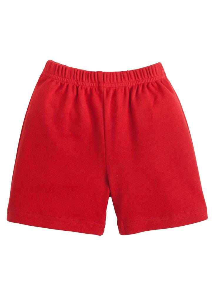 Red Knit Shorts, Little English, classic children's clothing, preppy children's clothing, traditional children's clothing, classic baby clothing, traditional baby clothing
