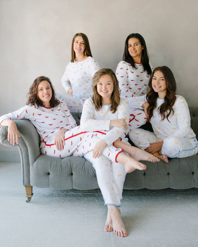 Little English womens mommy and me pajamas