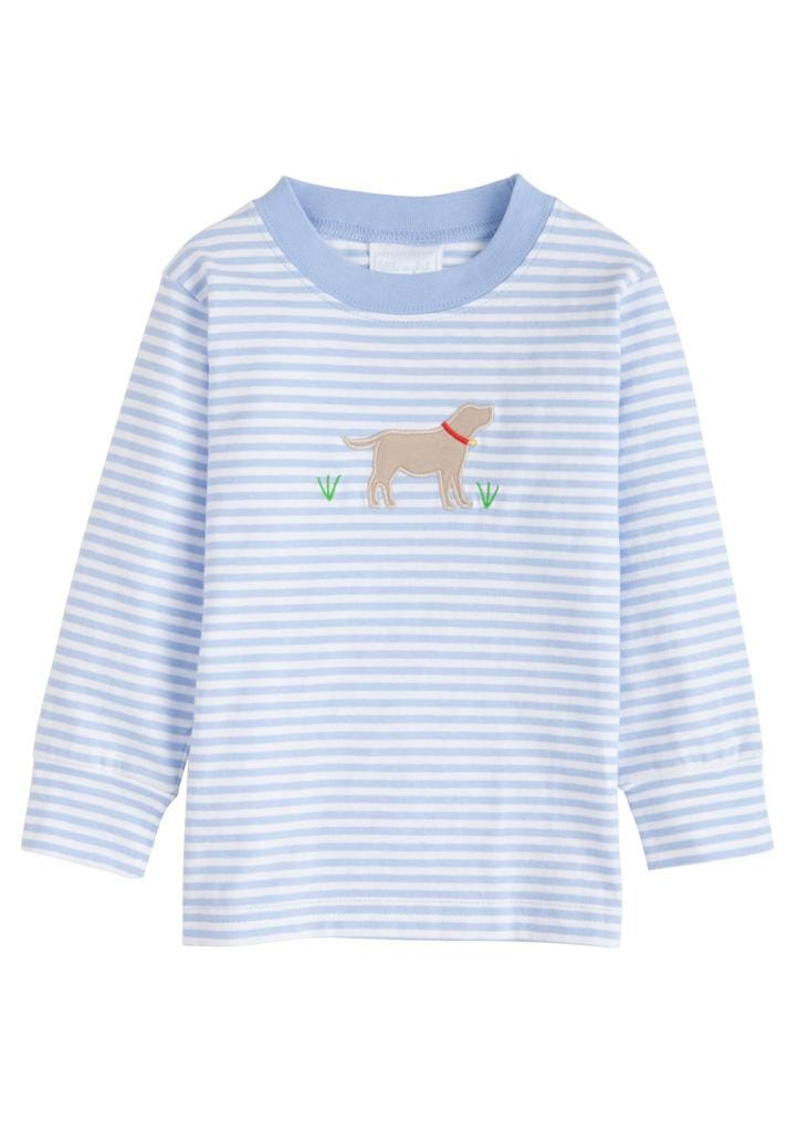 Little English classic boy's applique t-shirt, traditional children's clothing