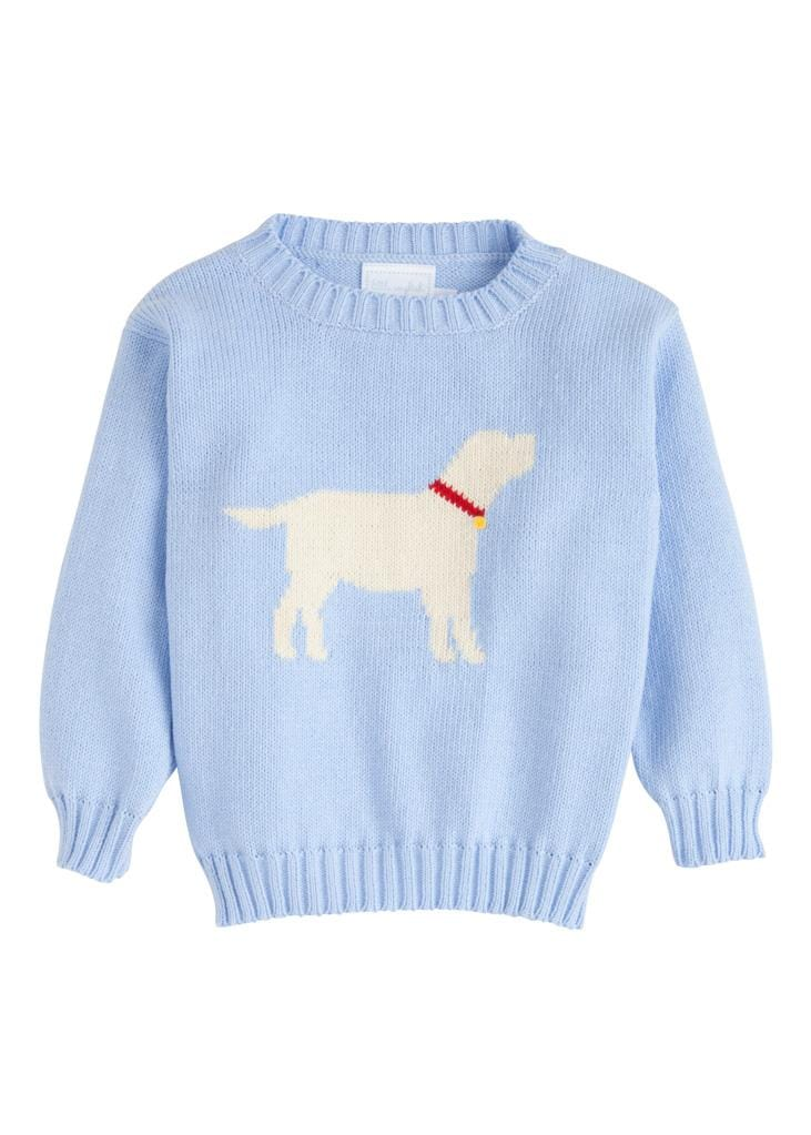 Little English classic boy's intarsia sweater