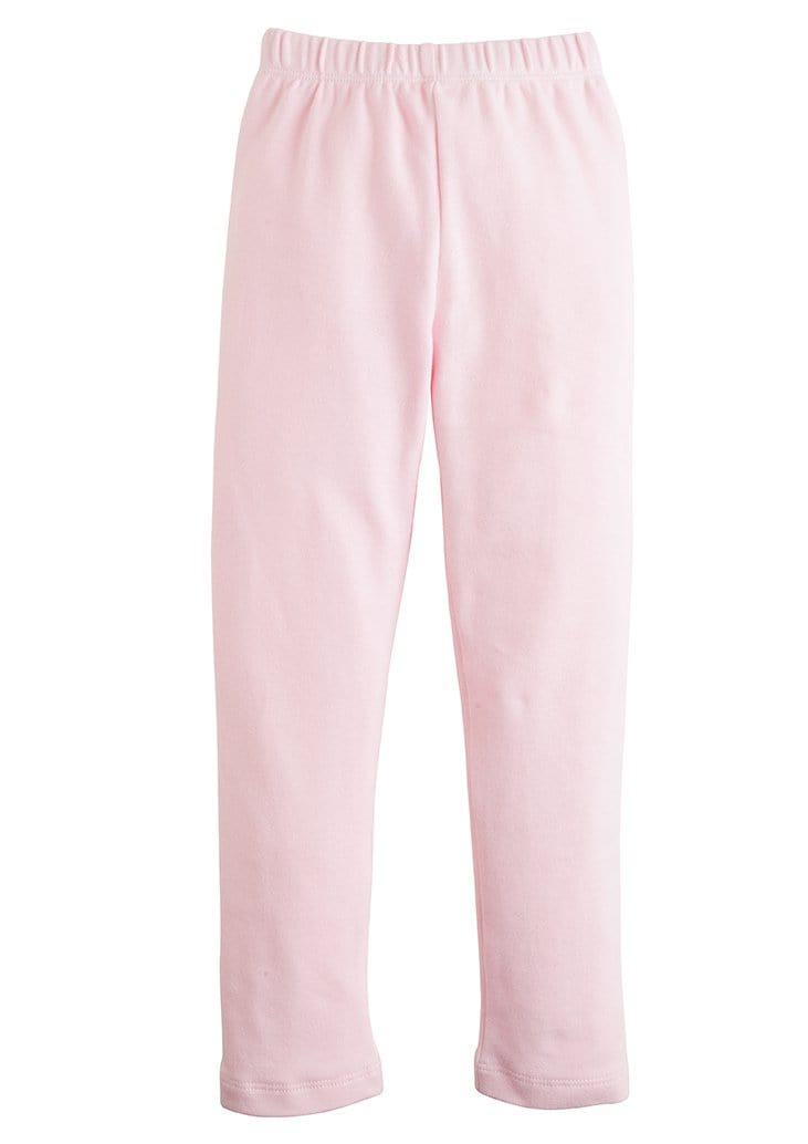 girls light pink leggings