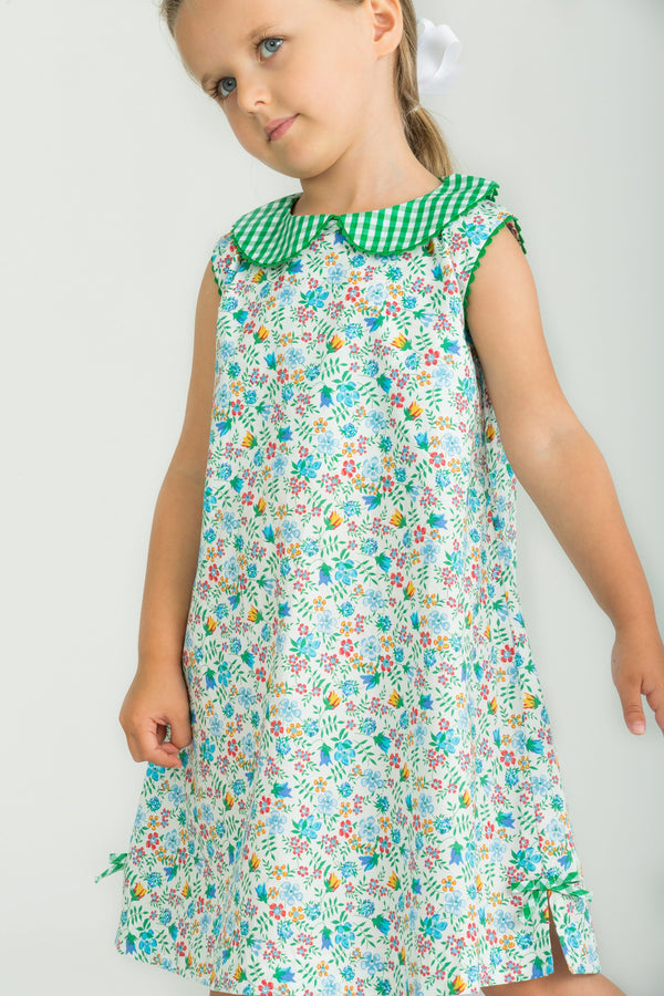 Little English Girls Augusta Floral Dress