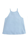 Lily Top - Light Blue, Little English, classic children's clothing, preppy children's clothing, traditional children's clothing, classic baby clothing, traditional baby clothing