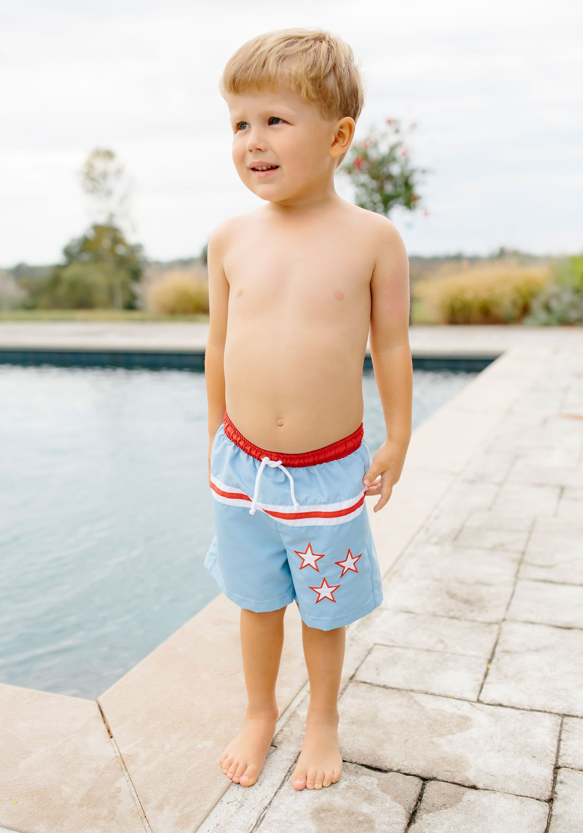 Linville Board Short, Little English, classic children's clothing, preppy children's clothing, traditional children's clothing, classic baby clothing, traditional baby clothing