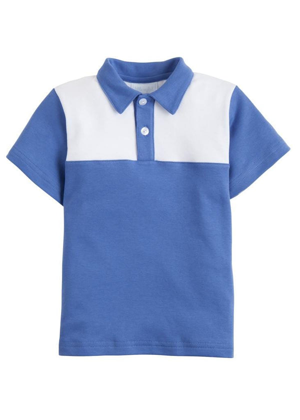Papa Polo - Harbor Blue, Little English, classic children's clothing, preppy children's clothing, traditional children's clothing, classic baby clothing, traditional baby clothing
