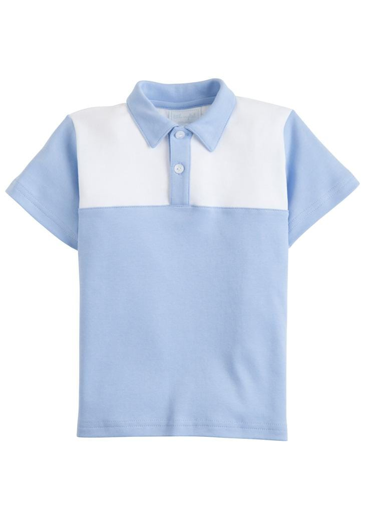 Papa Polo - Light Blue, Little English, classic children's clothing, preppy children's clothing, traditional children's clothing, classic baby clothing, traditional baby clothing