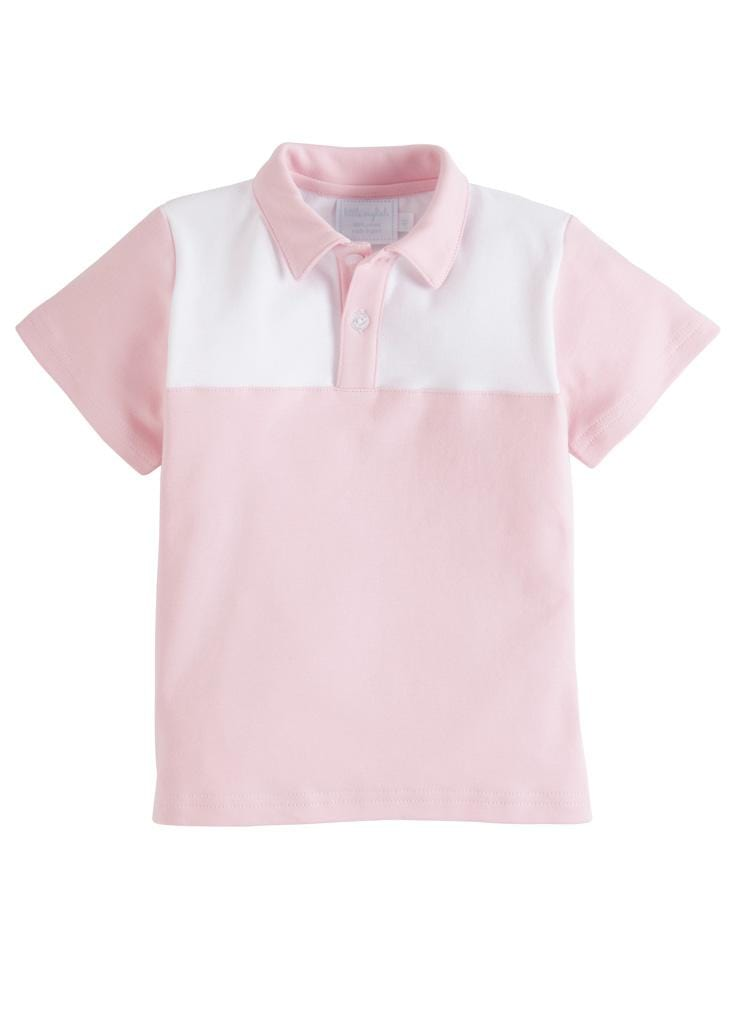 Papa Polo - Pink, Little English, classic children's clothing, preppy children's clothing, traditional children's clothing, classic baby clothing, traditional baby clothing