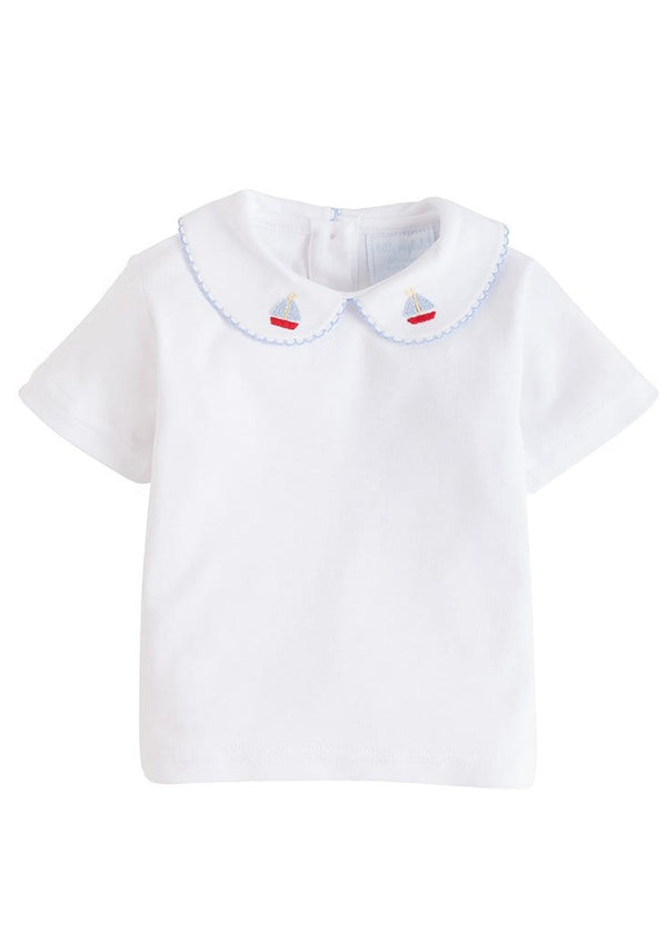 Sailboat Pinpoint Shirt