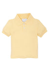 Solid Polo - Yellow, Little English, classic children's clothing, preppy children's clothing, traditional children's clothing, classic baby clothing, traditional baby clothing