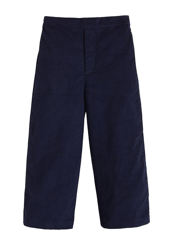 Pull on Pant - Navy Corduroy, Little English, classic children's clothing, preppy children's clothing, traditional children's clothing, classic baby clothing, traditional baby clothing
