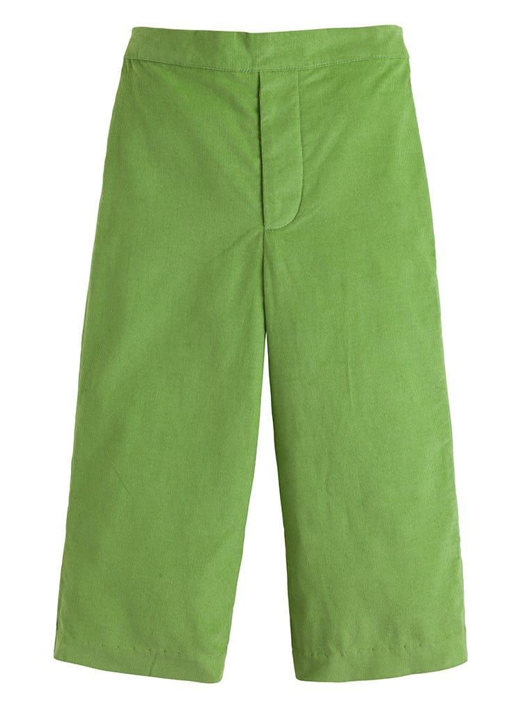 sage green corduroy pull on pant