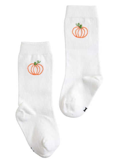 Little English classic pumpkin knee high socks, traditional children's clothing