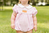 Pumpkin Polly Bubble, Little English Traditional Children's Clothing, baby girl's classic pink bubble