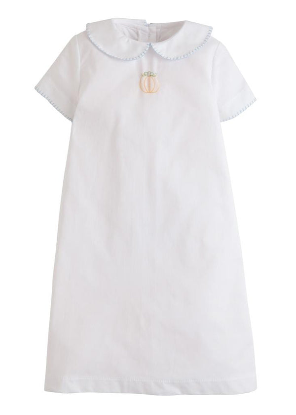 Little English classic baby boy's pumpkin whipstitch day gown, traditional children's clothing