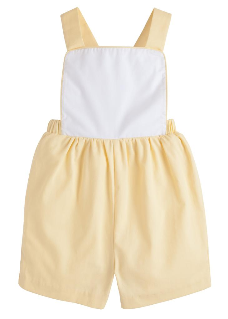 Reed Shortall - Lemon, Little English, classic children's clothing, preppy children's clothing, traditional children's clothing, classic baby clothing, traditional baby clothing