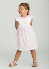 little english classic girls pink easter dress girls casual easter outfit