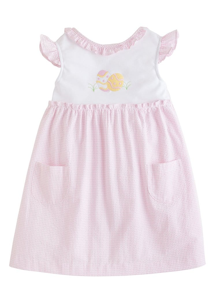 Little English classic girls easter egg hunt dress