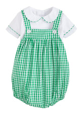 Saratoga Bubble Set - Augusta Green Gingham