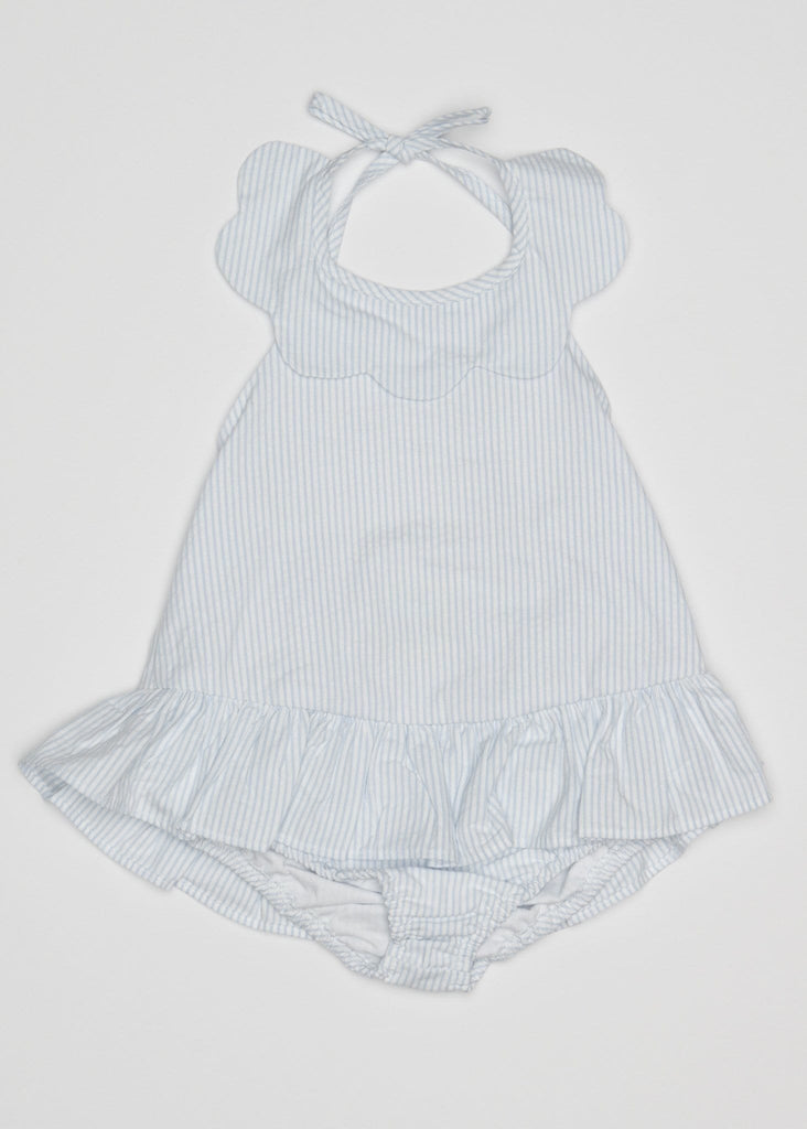 Scallop Bathing Suit - Little English, classic children's clothing, preppy children's clothing, traditional children's clothing, classic baby