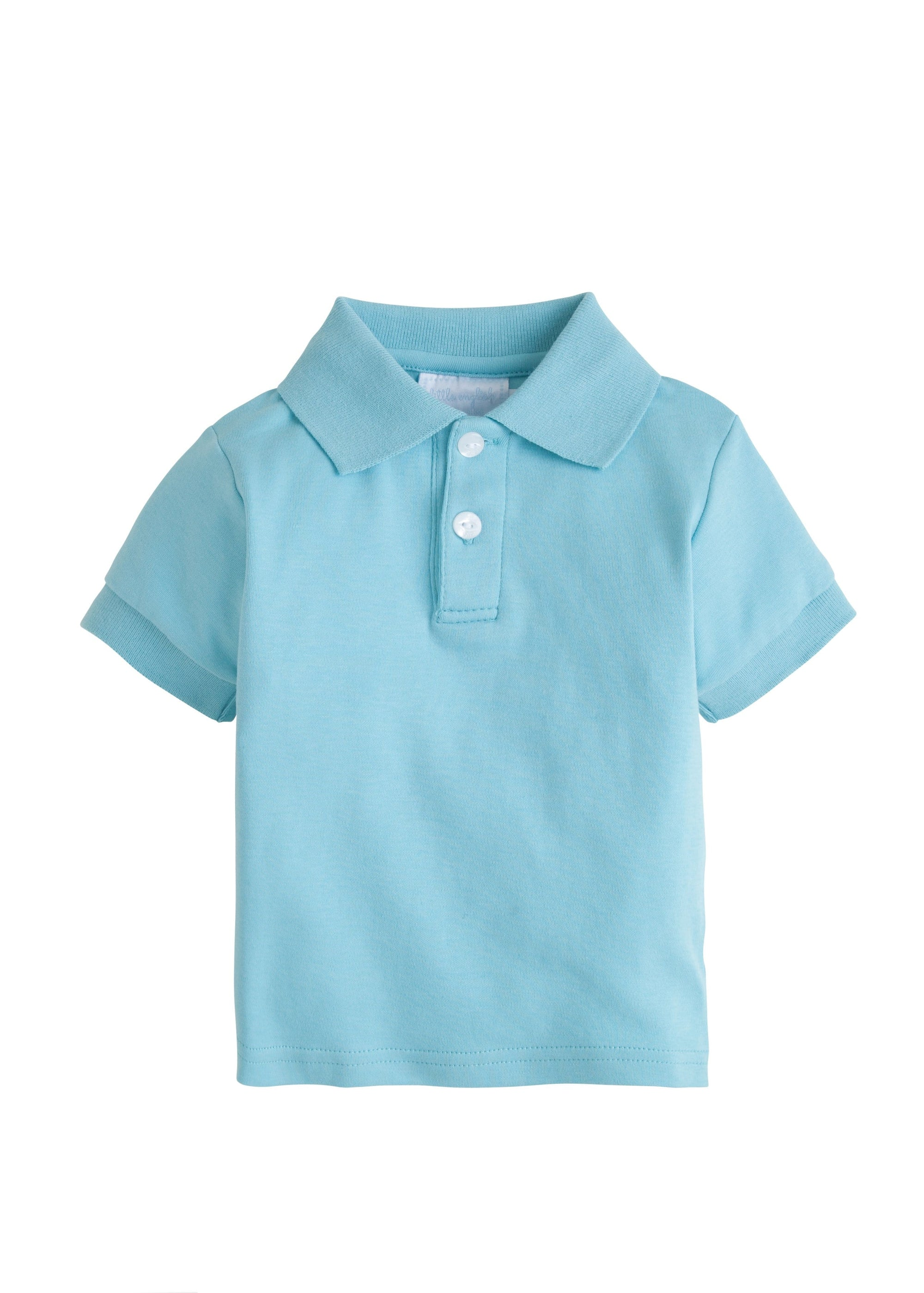 Solid Polo - Aqua