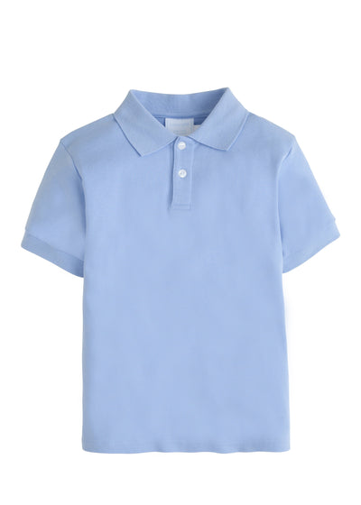 Solid Polo - Light Blue