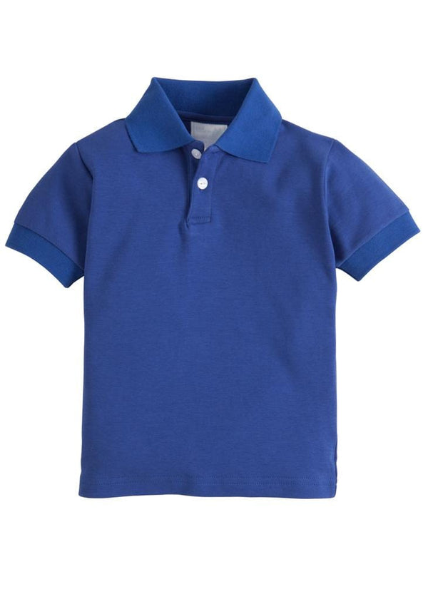 Solid Polo - Royal, Little English, classic children's clothing, preppy children's clothing, traditional children's clothing, classic baby clothing, traditional baby clothing