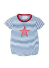 Star Applique Bubble, Little English, classic children's clothing, preppy children's clothing, traditional children's clothing, classic baby clothing, traditional baby clothing