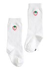 Knee Highs - Strawberry, Little English, classic children's clothing, preppy children's clothing, traditional children's clothing, classic baby clothing, traditional baby clothing
