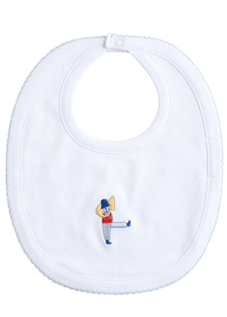Little English classic toy soldier printed bib, traditional children's clothing and accessories