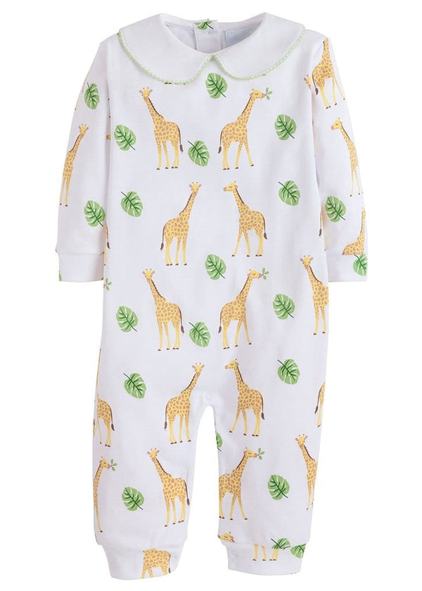 little english classic boys printed playsuit jungle print unisex playsuit