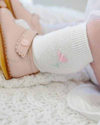 Knee Highs - Tulip, Little English, classic children's clothing, preppy children's clothing, traditional children's clothing, classic baby clothing, traditional baby clothing