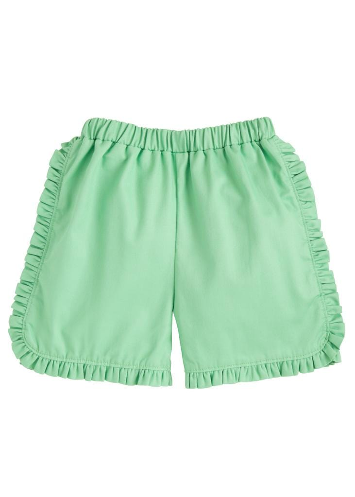 Tulip Shorts - Green, Little English, classic children's clothing, preppy children's clothing, traditional children's clothing, classic baby clothing, traditional baby clothing