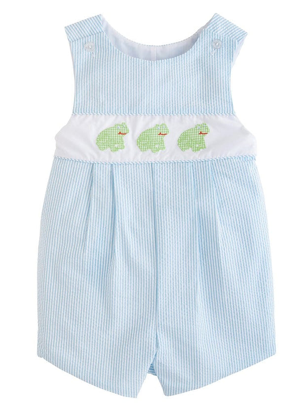 little english classic boys vintage inspired applqieu romper