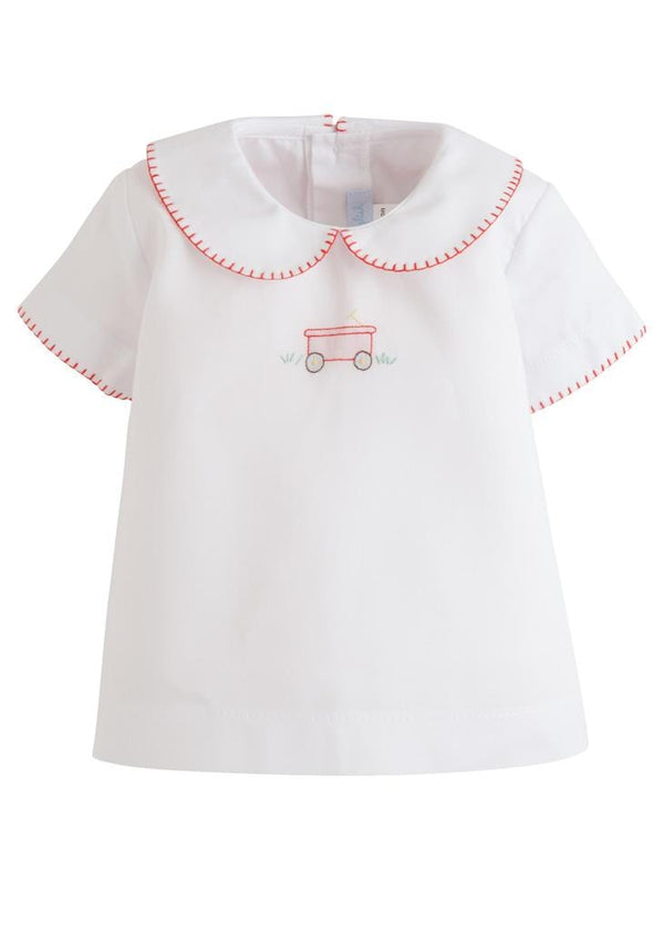 Little English classic whipstitch day shirt