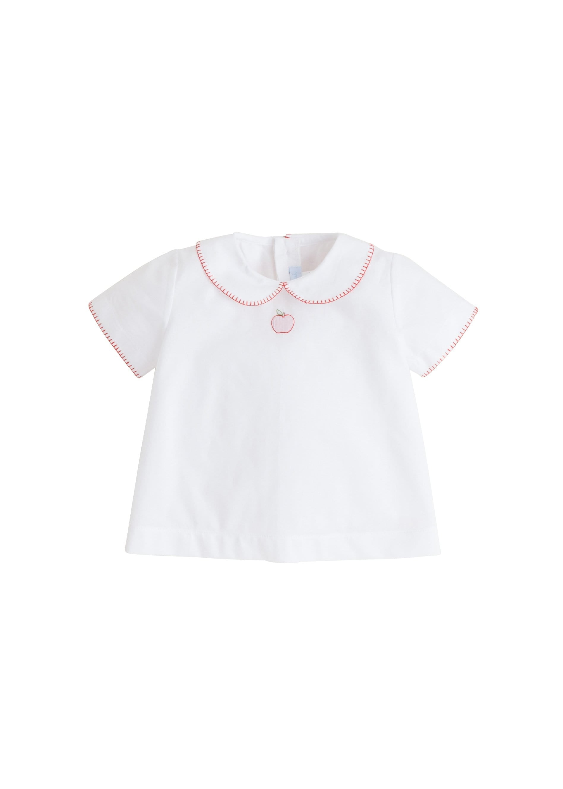 Apple Whipstitch Day Shirt, Little English, classic children's clothing, preppy children's clothing, traditional children's clothing, classic baby clothing, traditional baby clothing