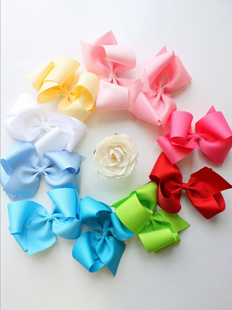 Hair Bow - Little English, classic children's clothing, preppy children's clothing, traditional children's clothing, classic baby