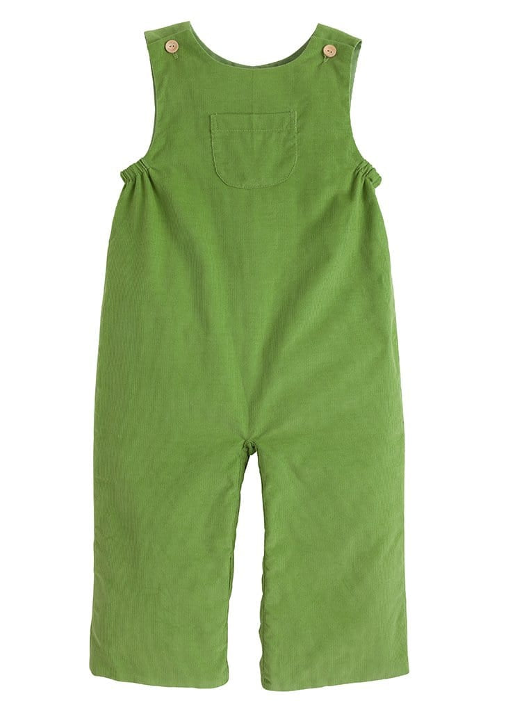 little english classic boys sage green overalls