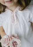 Ruffled Tea Blouse